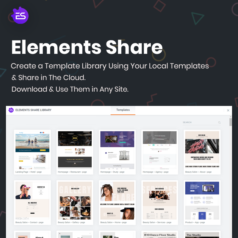 Elements Share for Elementor - 2